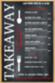 NEW Takeaway Menu Template - Made with P
