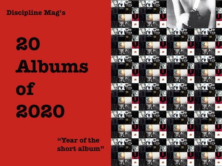 20 Albums of 2020