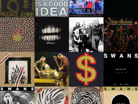 SWANS - live albums - RANKED