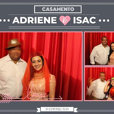 Adriene e Isac