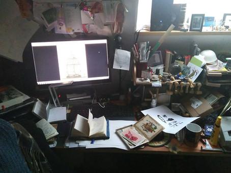 (virtueller) Atelierbesuch bei Gereon Inger
