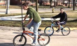 Bike Ride with a Friend!