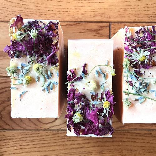 Flower Power Bar Soap