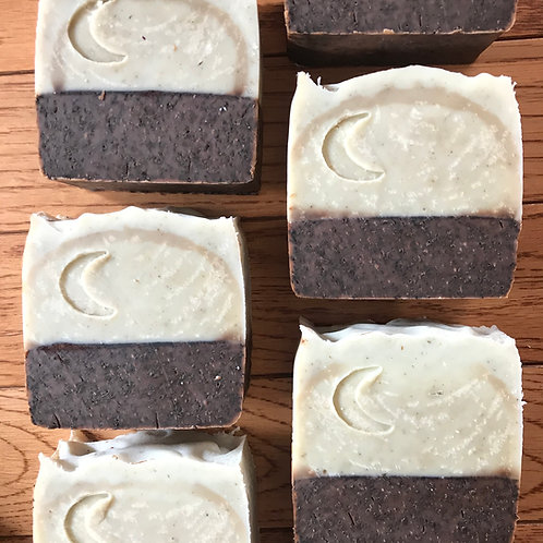 Gardener's Mint Chocolate Bar Soap