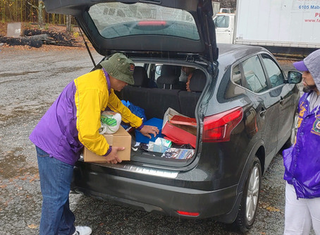 Feeding Families at the Family Restoration Life Center