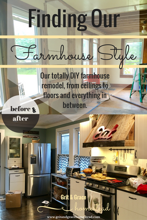 The DIY Farmhouse Remodel...a little blood, lots of sweat, and a little tears