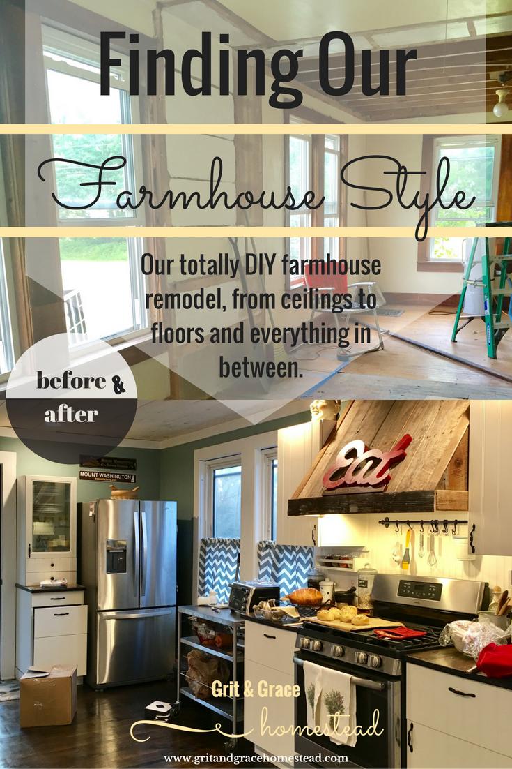 Farmhouse style | Grit & Grace Homestead