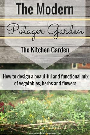 The Potager Garden (A Kitchen Garden)