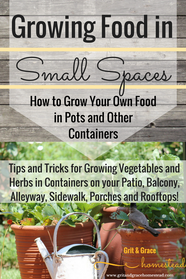 Growing Vegetables in Containers - tips and tricks