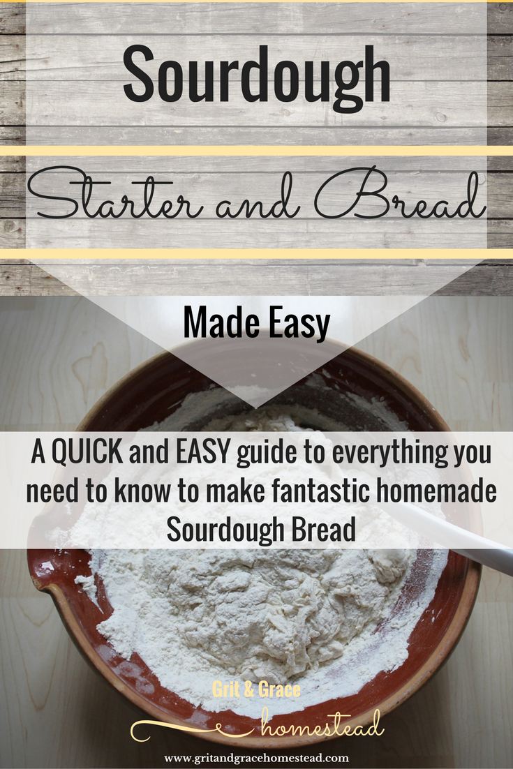 DIY Sourdough Starter and Bread Made Easy