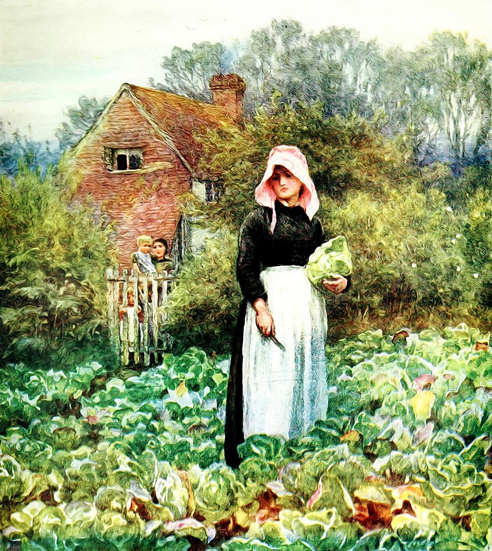the kitchen garden through history