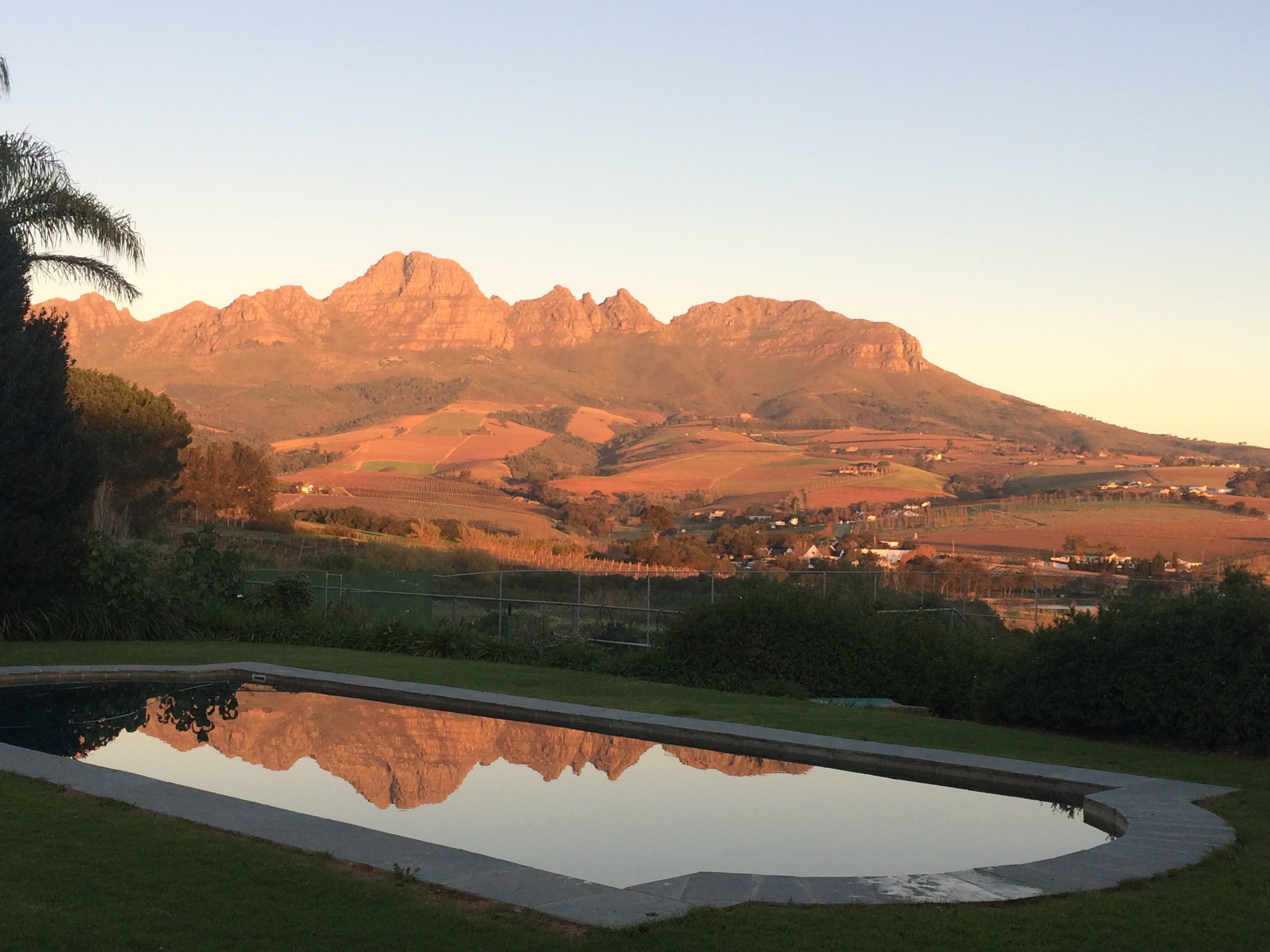 Helderberg Sunset