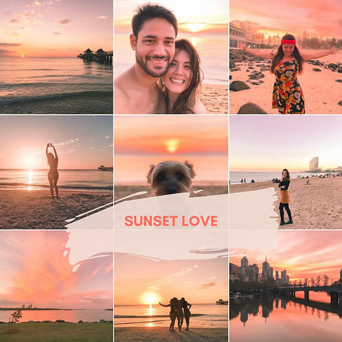 Sunset Love Mobile Presets