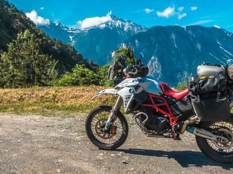 Touring Switzerland by motorcycle