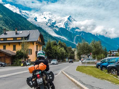 Motorcycle road trip Europe - Switzerland to Spain