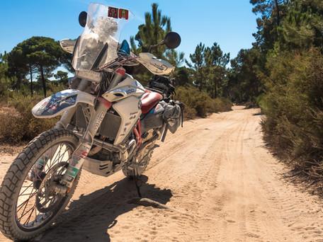 Motorcycle adventure mechanics