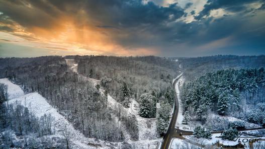Southeastern Ohio Winter Landscape