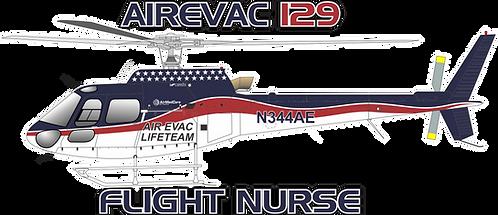 AS350#047 - OKLAHOMA - AIR EVAC 129