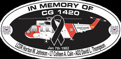 Memorial CG-1420 CGAS BARBERS POINT