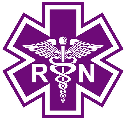 SOL#129 CADUCEUS RN PURPLE