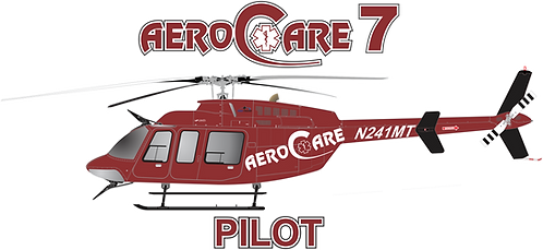 B407#100 - TEXAS - AERO CARE 7
