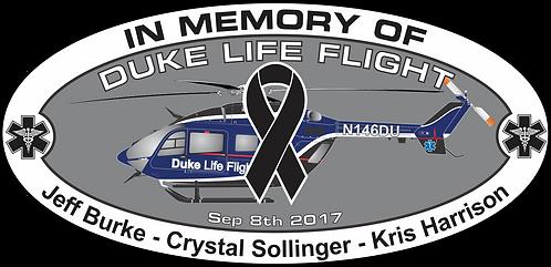 Memorial HEMS DUKE LIFE FLIGHT SEP 8 2017