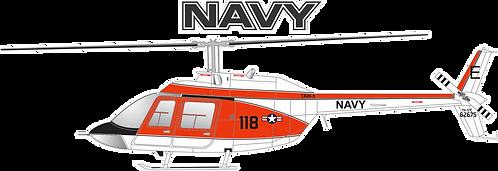 NAVY#005 BELL TH-57