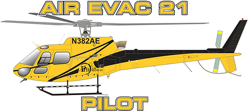 AS350#008 - ARIZONA - AIR EVAC 21