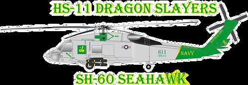 NAVY#002 HS-11  SH-60 SEAHAWK