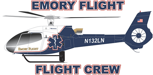 EC130#008 - GEORGIA - EMORY FLIGHT