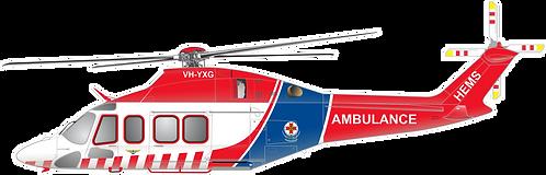 AW139#012 AIR AMBULANCE VICTORIA