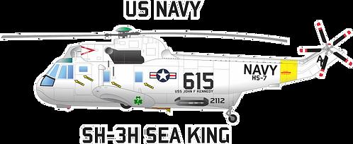 NAVY#003 SH-3 SEA KING HS-7