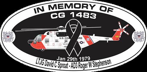 Memorial CG-1483 CGAS SAN DIEGO