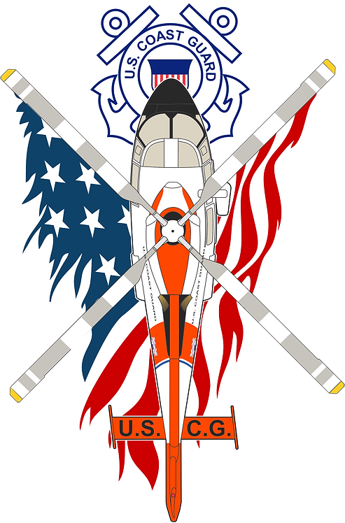 PATRIOT#011 US COAST GUARD H-65 CLASSIC