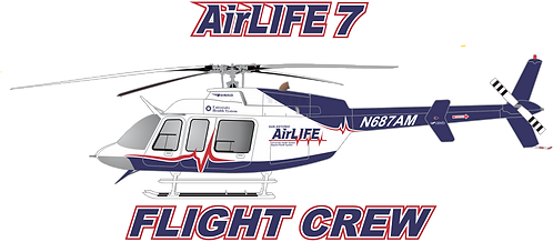 B407#104 - TEXAS - AIRLIFE 7