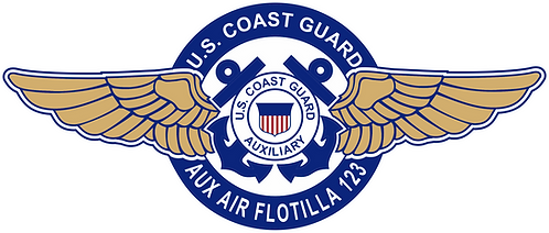 CGAUX#008 SPECIAL WINGS COAST GUARD AUXILIARY AVIATION