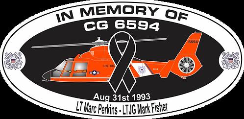 Memorial CG-6594 CGAS BROOKLYN