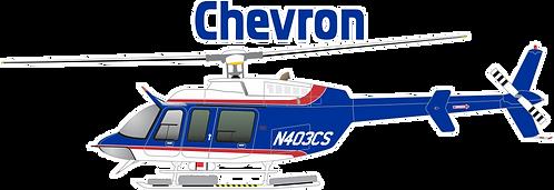 CU#006 CHEVRON BELL-407