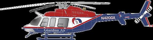 B407#141 ARIZONA - GUARDIAN AIR POWER N420GA