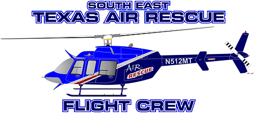 B407#115 - TEXAS - SOUTH EAST TEXAS AIR RESCUE