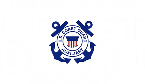 CGAUX#004 COAST GUARD AUXILIARY SHIELD WITH BACK GROUND