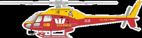 AS350#139 AUSTRAILIA SLSA RESCUE