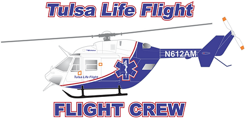 BK-117#041 OK TULSA LIFE FLIGHT