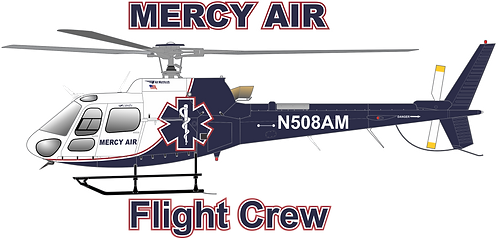 AS350#022 - CALIFORNIA - MERCY AIR