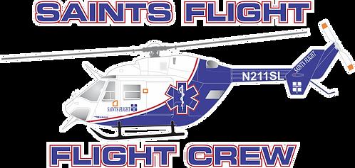 BK-117#019 IL SAINTS FLIGHT