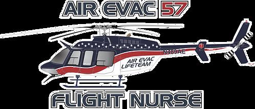 BELL407#121 - TEXAS - AIR EVAC 57