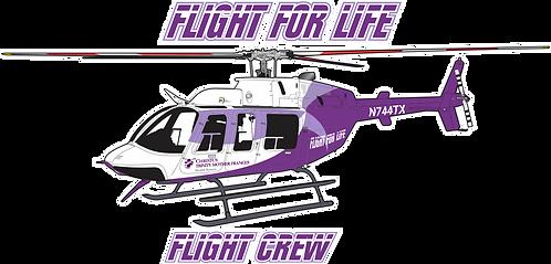 B407#005 TEXAS -  FLIGHT FOR LIFE