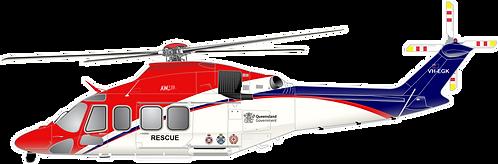 AW139#015 AU QUEENSLAND AIR RESCUE