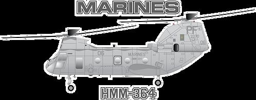 USMC#007 CH-46E - HMM-364