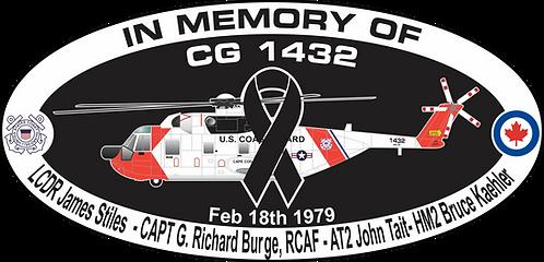 Memorial CG-1432 CGAS CAPE COD